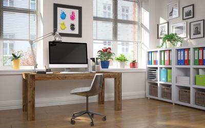 Moderne Raumaufteilung Büro