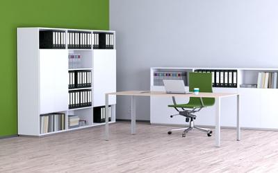 Moderne büromöbel weiss  Büromöbel - modern: Design für zu Hause & Firma | Furnerama