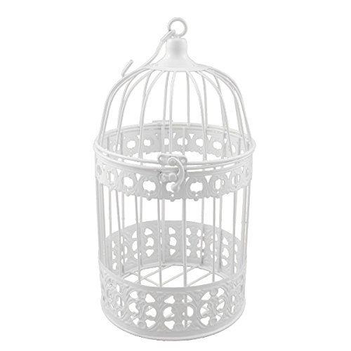 Vögel 44cm Antikweiß Schöner Vintage Shabby Nostalgie Vogelkäfig Deko nicht f