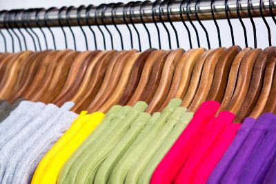 Endlich Ordnung im Kleiderschrank
