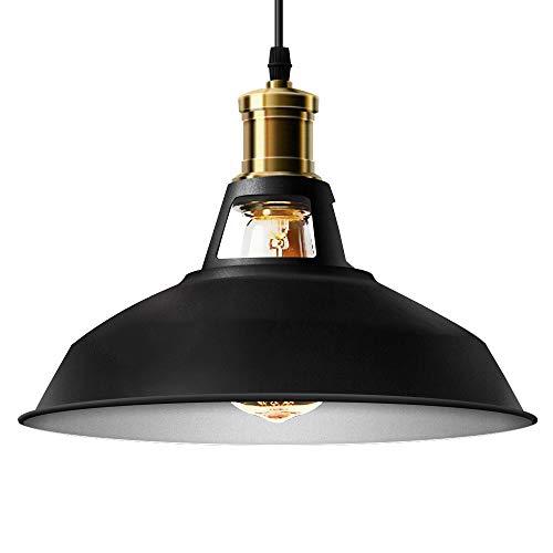 E27 8-Flammig F/ür Esszimmer K/üche H/ängeleuchte Holz Kronleuchter L/üster Esstisch Pendelleuchte Vintage H/ängelampe Industrial Retro Lampenschirm