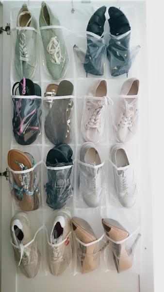 Hängeschrank für Schuhe