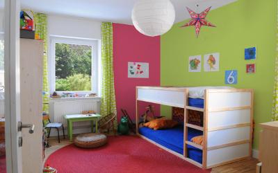 Raumaufteilung Kinderzimmer
