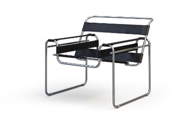 Bauhaus Stahlrohrsessel