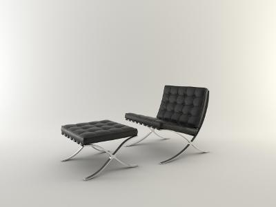 Möbelklassiker Barcelona Bauhaus