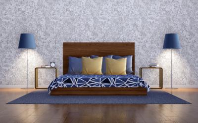 Schlafzimmer minimalistisch einrichten
