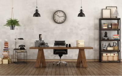 Schreibtisch-vintage