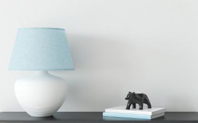 Schreibtischlampe im Landhausstil
