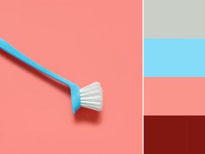Trendfarben Palette Badezimmer