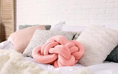 Trendfarbe im Schlafzimmer