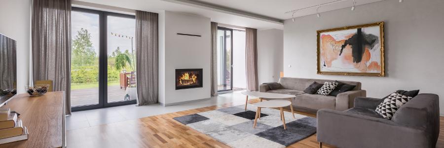 Wohnzimmer modern puristisch einrichten