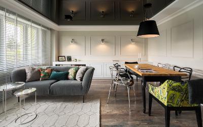 Wohnzimmer moderne Beleuchtung
