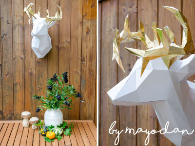 DIY Papier-Tiere