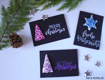 DIY Weihnachtskarten
