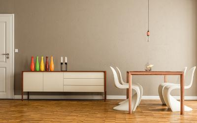 Moderne Farbgestaltung: Deko als Farbklecks