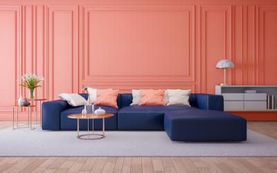 Farbgestaltung Wohnzimmer Trend 2019
