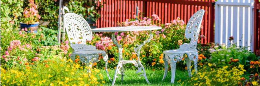 Vintage Gartenmöbel
