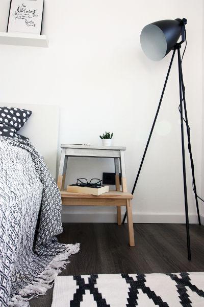 Ikea Hack: Nachttisch oder Beistelltisch
