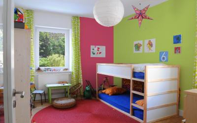 Wirkung von Farben im Kinderzimmer