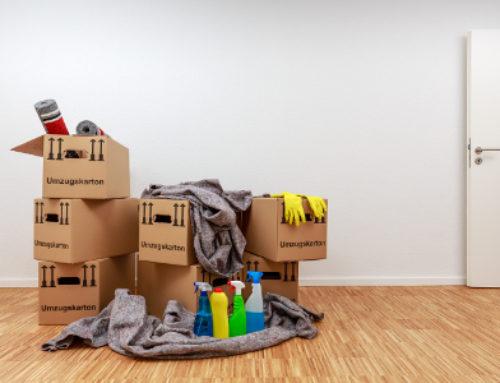 Wohnung aufräumen